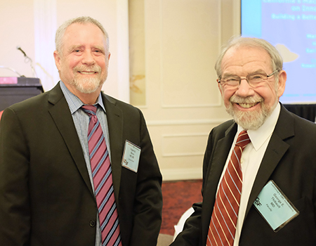 Robert Baron, MD and George Thibault, MD 2016